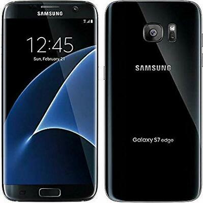 Samsung Galaxy S7 Edge SM-G935 32GB GSM Unlocked Smartphone-Black-Fair