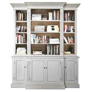 French Provincial Furniture Bookcase Cabinet Light Grey Dandenong South Greater Dandenong Preview