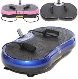 Gym Master Vibration Plate nearly new with REMOTE CONTROL