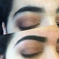 Eyebrows Threading , Tinting and Henna Tattoo