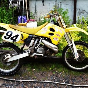 2 bikes up for grabs 1995rm250 and 90 rmx 250