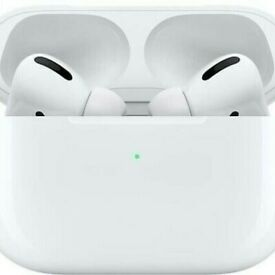 Apple AirPods Pro White Headsets with Charging Case.