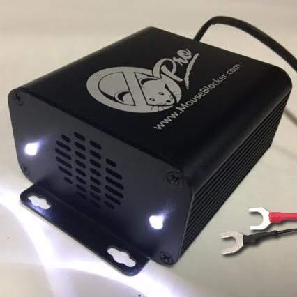 MouseBlocker Pro - Ultimate 12V Ultrasonic Mouse and Rodent Deterrent