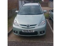 A QUICK SALE MAZDA 5 FURANO @1375, GOOD RUNNER WITH 12 MONTHS MOT. FIRST TO SEE WILL BUY