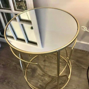 Gold Accent Side Table [NEW!]