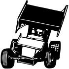 Sprint Car Stickers