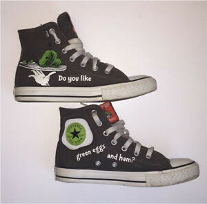 Converse Dr. Seuss green eggs and ham