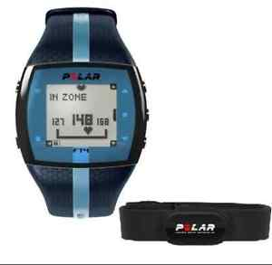 Polar-FT4-Blue-Unisex-Heart-Rate-Monitor-Watch-FT4-HRM