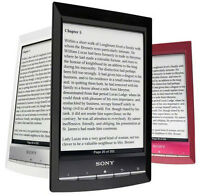 Sony wifi eReader with cover case and light