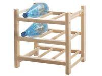 9-bottles wine rack
