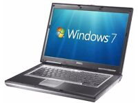 IMMACULATE, FAST, DELL LATITUDE D630 , WIFI , DUALCORE LAPTOP, GOOD BATTERY, WIN 7 64 BIT