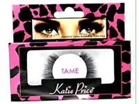 Katie price false eyelashes