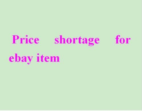 Extra Money Additional Cost Price difference Price shortage for ebay order ag