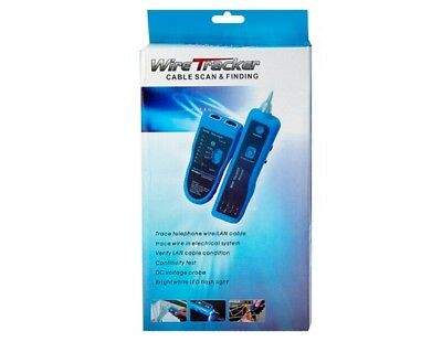 Wire Tracker - Cable Scan Finding - Trace Telephone Wirelan Cable With Bag