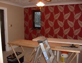 Looking for work painting & decorating , labouring, gardening, driving.