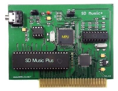 SD Music+ card for APPLE II