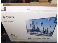 "Sony Bravia WD65 40"" Full HD 1080p TV"
