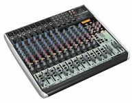 Behringer Xenyx QX2222USB Mixer - unused 22 channel analogue mixer