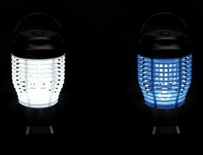 Electric Insect Killer and Camping light Portable Rechargeable Velleman GIK20