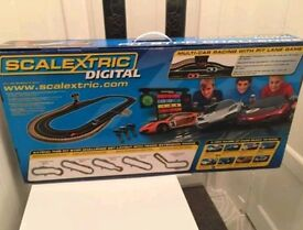 Scalextric Digital Pit Stop Challenge *New* rrp £250