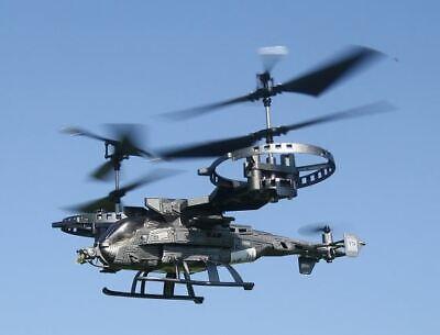 RC Kampf Helikopter FIGHTER SA-2 ferngesteuerter Hubschrauber Heli 4 Kanal LED