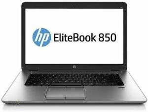 HP EliteBook 850 G2 15.6 Intel Core i5 5300U 2.60GHz 8GB RAM 500GB HDD 256GB SSD UPGRADE AVAILABLE  T8Y35US#ABA City of Montréal Greater Montréal Preview