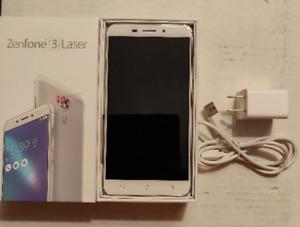 Like New In Box ASUS Zenfone 3 Laser 32 GB Smartphone - Silver