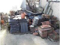 NEW STOCK ALERT !: A variety of reclaimed roof tiles sold separately or as a job lot