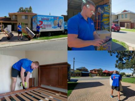 2 Easy Removals FROM $50PH - Removalists Perth West Perth Perth City Preview