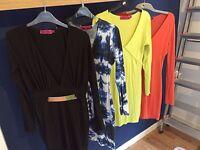 Women's fashion dresses and jumpsuits job lot/bundle - Size 10s