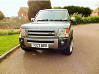 2007 LAND ROVER DISCOVERY 3 2.7TDV6 GREY AUTOMATIC 136000 MILES