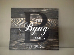 Rustic Handmade Signs - Customized for you!