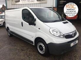 2014 64 VAUXHALL VIVARO 2.0 2900 CDTI 6 SPEED 115BHP LWB LOW ROOF CHOICE OF 8