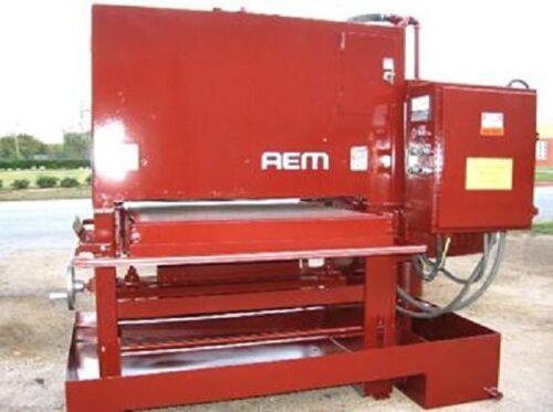 "AEM American Pro West 37"" WET BELT SANDER 37"" x 60"" Belt Mild Steel SS Aluminun"
