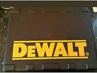 DeWalt empty carry case new