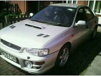 Subaru impreza uk turbo 2000 low mileage 106k saloon £2350 ono