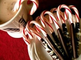 Hot chocolate candy canes on a stick just add milk stir and enjoy ideal teacher gifts