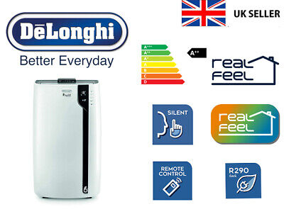 Delonghi PAC EX100 Portable Air Conditioner C/W HOSE AIR CONDITIONING COOLING