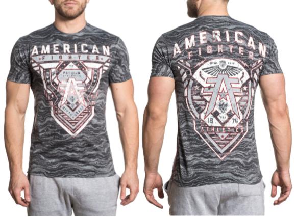 2c6d091f купить mens american fighter worldwide, с доставкой AMERICAN FIGHTER Mens  TShirt LOCKPORT Athletic GREY CAMO
