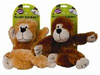 Monkey Dog Toy with squeaker and long legs