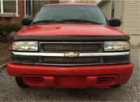 1999 Chevrolet S10 - $800.00 As Is