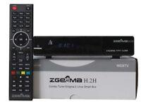 zgemma h2h cable box all setup plug n play auto updates