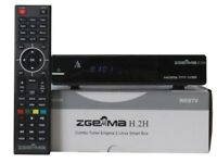Zgemma H2H Cable and Satellite Receiver with 1 year Warranty