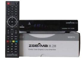 Zgemma H2H Cable IPTV Openbox Box 12 Month Warranty
