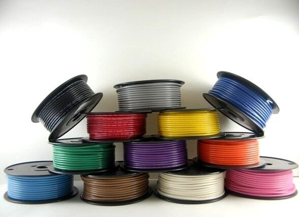 10 AWG Gauge Primary Wire Car / Boat Marine Grade Tinned Copper Made in the USA Alternative Energy Supplies