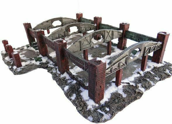 15mm Stalingrad Red October Factory Ruin No. 1079