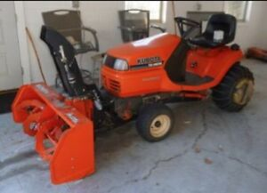 Kubota Snowblower Attachment