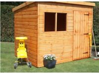 Shed pent or apex roof all sizes cheap or heavy duty