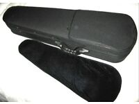 Violin case, in new condition
