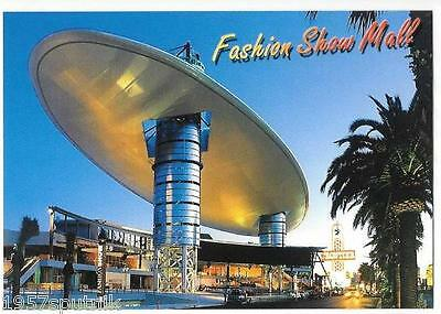 Fashion Show Mall Las Vegas Strip shopping Mall postcard Old Facade New H